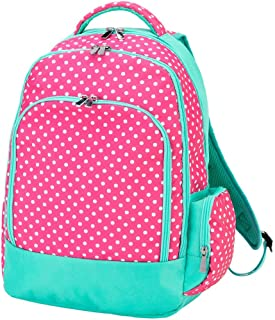Reinforced Design Water Resistant Backpack (Pink Dottie)