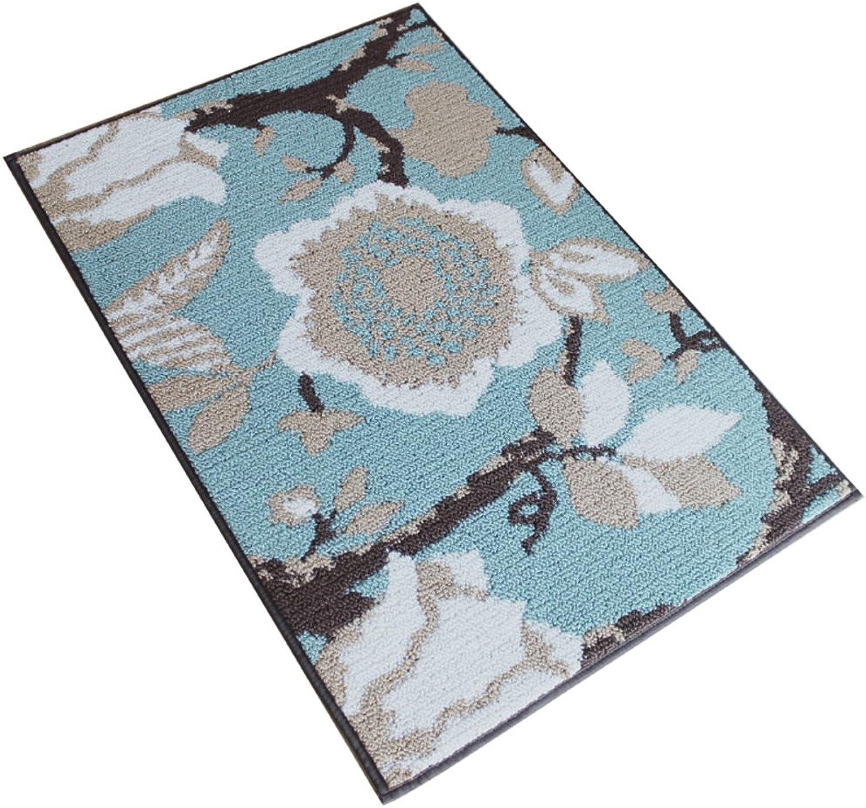 Entrance Carpet [Small mats] Bathroom Water-Absorbing Non-sliping mats Living Room,Doormat Entrance Foyer Entrance mats-F 45x120cm(18x47inch)