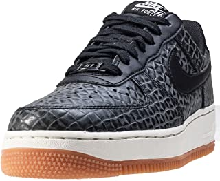 Nike Air Force 1 07 Premium Womens Trainers Black Gum - 8 UK