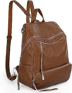 UTO Fashion Women Backpack 3 Ways Purse PU Leather Convertible Ladies Rucksack Shoulder Bag
