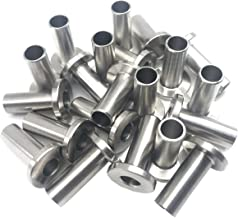 Senmit Stainless Steel Protector Sleeves for 1/8