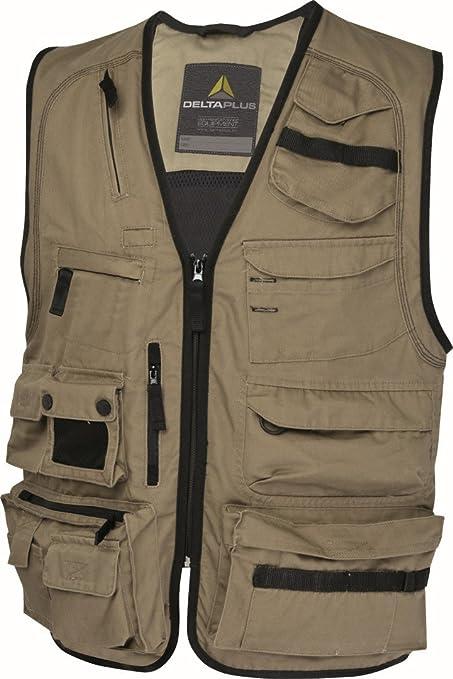 XXLarge - 45-47 Chest, Grey With Orange Trim Panoply Mach2 Work Lightweight Bodywarmer Tool Vest
