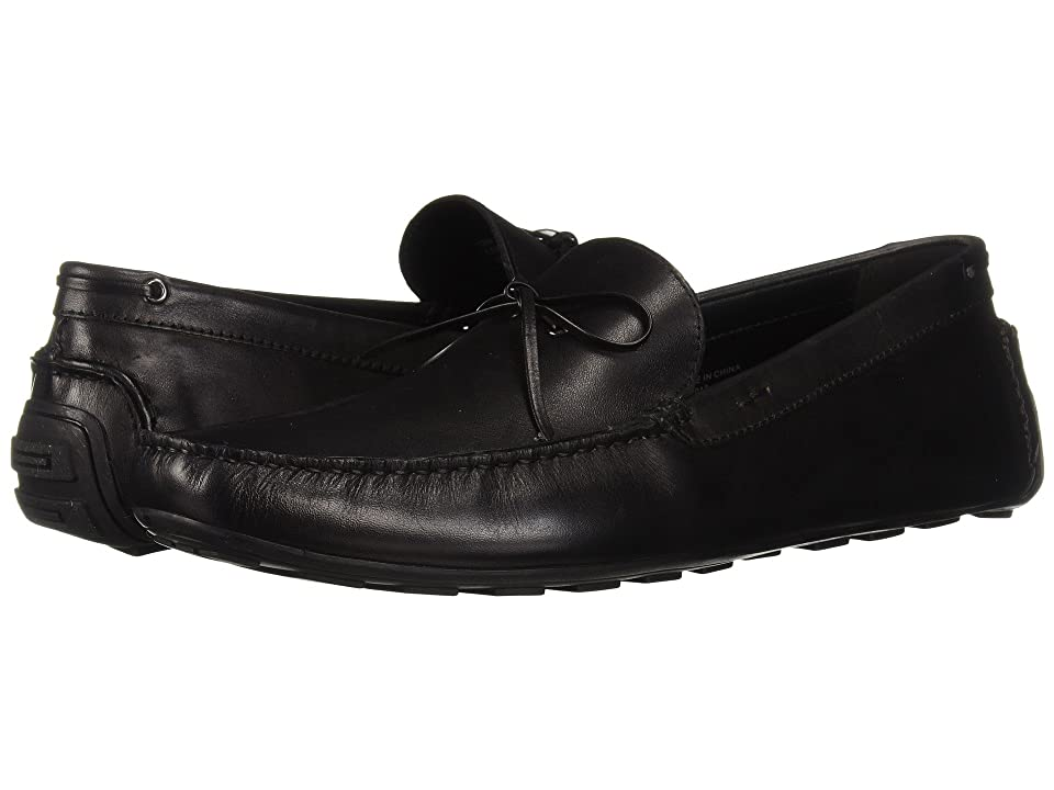 Kenneth Cole Reaction Leroy Driver B (Black Leather) Men's Slip-on Dress Shoes