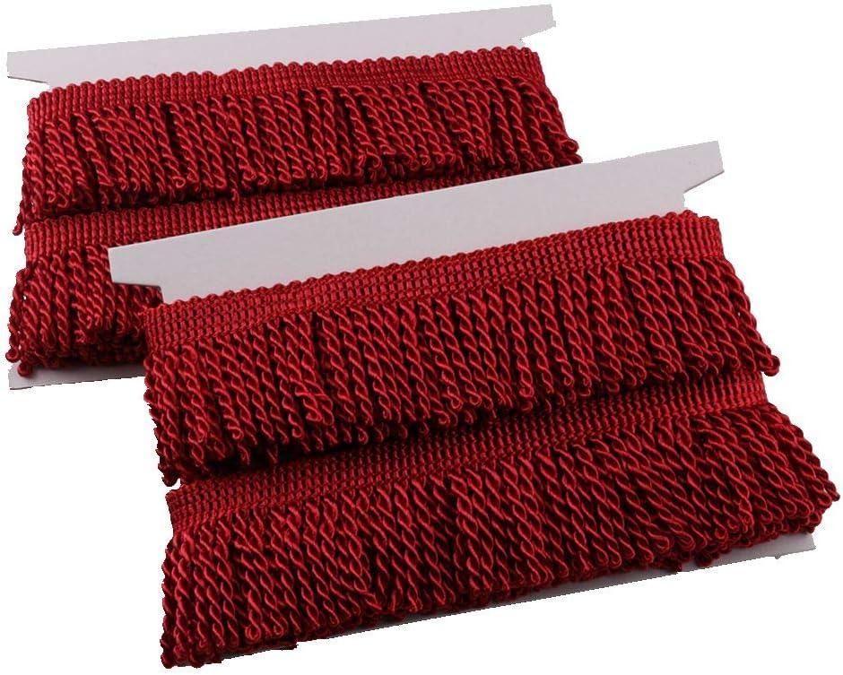 discount HEARTWISH Curtain Fringes Bullion Fringe 5 Trim 2.5Inch Yar Wholesale Wide