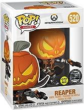Pop Overwatch Reaper Pumpkin Head Glow in The Dark Exclusive