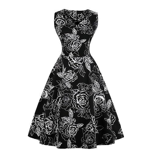 Plus Size 50\'s Dress: Amazon.com
