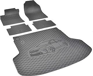 Passgenaue Kofferraumwanne und Gummifußmatten geeignet für KIA Ceed SW ab 2018 + Autoschoner MONTEUR