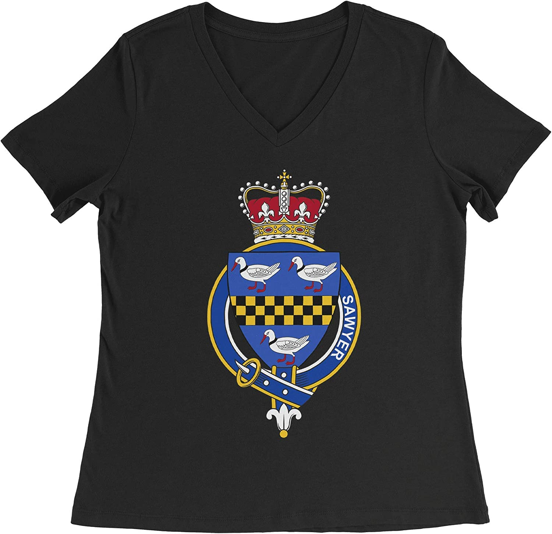 HARD EDGE DESIGN Women's English Garter Family Sawyer T-Shirt