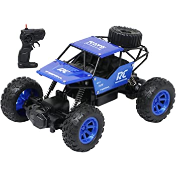 Zest 4 Toyz Remote Control 1:18 Rock Crawler 4x4 High Speed Rechargeable Off-Road Monster Truck | Car for Boys 10 Years | Kids Toy - Assorted Color