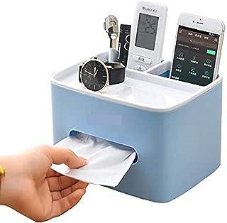 Tissue box organizer Tissue Box case multi-functional tissue box holder Office Desk Organizer Storage Tissue Box Holder Or...