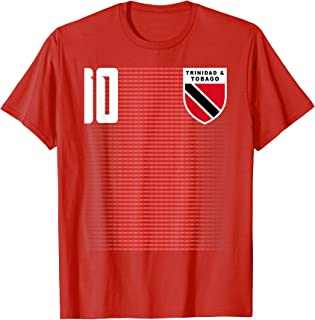 Trinidad And Tobago Football Soccer Jersey Shirt Tee