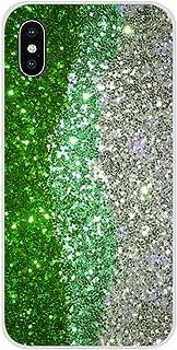 TREW mooie smaragdgroene glitter voor Samsung Galaxy S2 S3 S4 S5 Mini S6 S7 Edge S8 S9 S10E Lite Plus zachte transparante ...