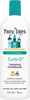 Fairy Tales Curly-Q Hydrating Conditioner - Conditioner for Curly Hair - Paraben Free, Sulfate Free, Gluten Free, Nut Free...