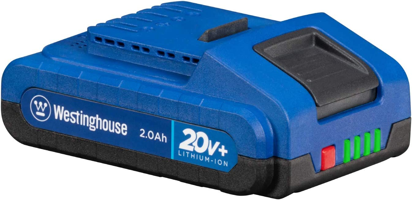 Westinghouse 2.0 Free shipping anywhere in the nation Ah Lithium-ion Battery discount for Cordless Tools 20V+