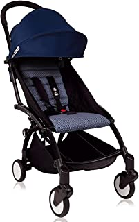 Yoyo+ Stroller 2017 by Baby Zen - Newest Model Rain Cover Included (Air France Blue)