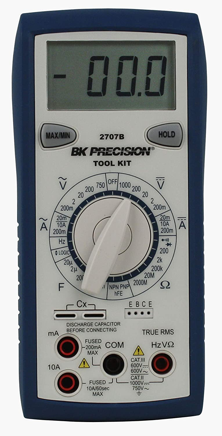 BK Precision 2707B Manual Ranging True Digital Tool Cheap super special price Mul RMS Popular shop is the lowest price challenge Kit
