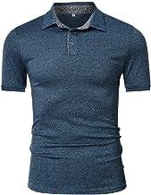 NOBRAND - Polo de manga corta para hombre, talla grande, para hombre, de secado rápido