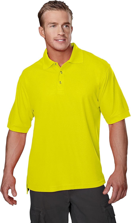 Tri-Mountain Men's 100 Safeguard S/S Polo Shirt