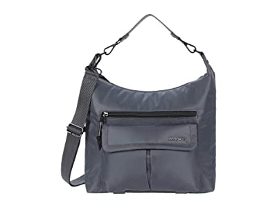 Hedgren Luna Convertible Eco-Friendly Hobo/Shoulder (Iron Gate) Bags