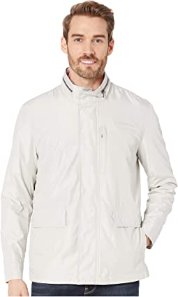 Packable Rain Jacket with Stand Collar