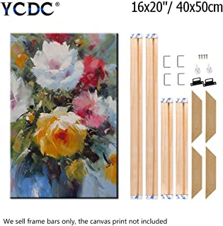 Canvas Wood Stretcher Bars Painting Wooden Frames for Gallery Wrap Oil Painting Posters, Modern Life Accessory, 16