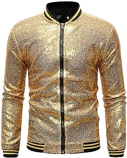 Abeaicoc Mens Casual Coat Slim Fit Sport Outwear Varsity Sweatshirt Bomber Jacket
