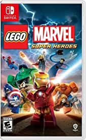 LEGO Marvel Super Heroes Smashes Its Way onto Nintendo Switch from Warner Bros. Games