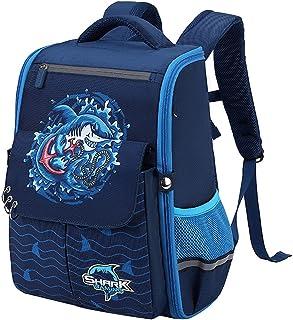 SellerFun Boys Girls Elementary School Backpack Primary School Bag for Age 6-12 Kids
