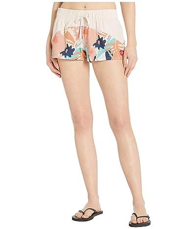 Roxy Catch A Wave Boardshorts (Peach Blush Bright Skies) Women