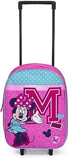 Disney Minnie Mouse Valise à roulettes pour Enfants - Rose