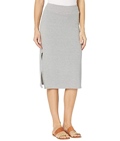 Toad&Co Piru Midi Skirt (Heather Grey) Women