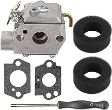Mannial 753-04333 Carburetor Carb fit Yard Man Machines Y780 YM20CS YM70SS Y725 YM1000 YM1500 YM320BV YM400 3100M Y28VP Y765 Y700 YM300 Weed Eater Bolens BL150 BL100 BL250 Trimmer BL410 Tiller