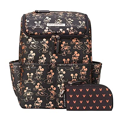 petunia pickle bottom Method Backpack Metallic Mickey Mouse (Metallic Mickey Mouse) Diaper Bags