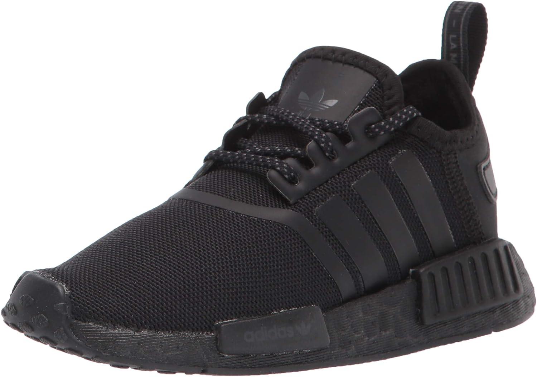 adidas Originals Unisex-Child NMD_r1 Elastic Sneaker