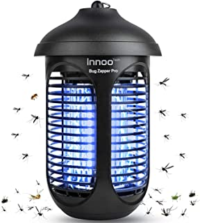 Innoo Tech Bug Zapper , Waterproof Insect Fly Pest Attractant Trap, Effective 4800V Electric Mosquito Zapper Killer for In...