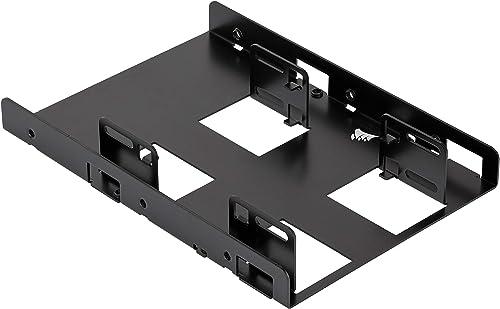 "Corsair Dual SSD Mounting Bracket 3.5"" CSSD-BRKT2, Black"