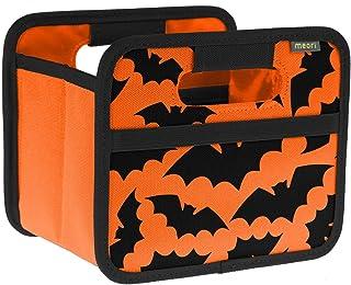 Meori Mini Boîte Pliante Orange/Halloween - Petite Boîte Pliante avec Poignées - Idée Cadeau et Multi-Usages Solution de R...