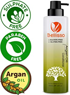 Moroccan Argan Oil Conditioner Sulfate Free for Normal Oily Curly Dry Damaged Color and Keratin Treated Hair for Men and Women