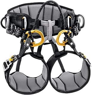 PETZL - Sequoia SRT Tree Care Seat Harness, Black/Yellow, 2