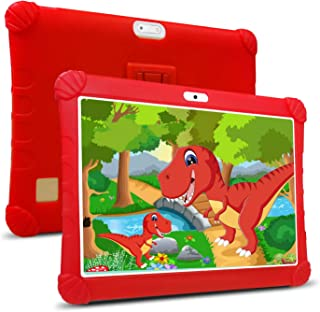 Tablet Bambini 10 Pollici con Wifi Offerte 4G,Tablet Offerte Android 9.0 RAM da 3GB 32GB ROM/128GB Quad-Core1.5 GHz Dual S...