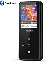 $27 » Hommie Bluetooth 4.0 MP3 Player with Touch Button, J3 8GB Music Player with Bluetooth FM/Voice Rocorder Lossless Sound Metal Music Player, 1.8 Inch TFT Color Screen, (Support up to 128GB),Black