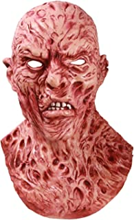 Horror Mask, The Scarred Face Scary Masks, Halloween Costume Party Decoration Deluxe Monster Mask