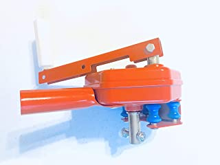 Greenhouse Sidewall Manual Film roll up Hand Crank Winch for Greenhouse Ventilation (2)