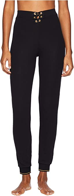 Urban Lace-Up High-Waisted Track Pants