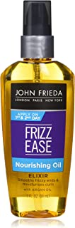 John Frieda Frizz Ease Nourish Oil, 3 Ounce (Pack of 6)