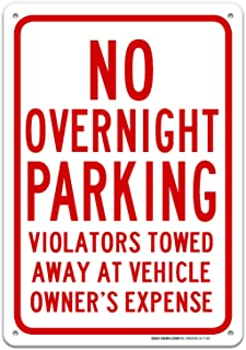Best no overnight parking signs Reviews