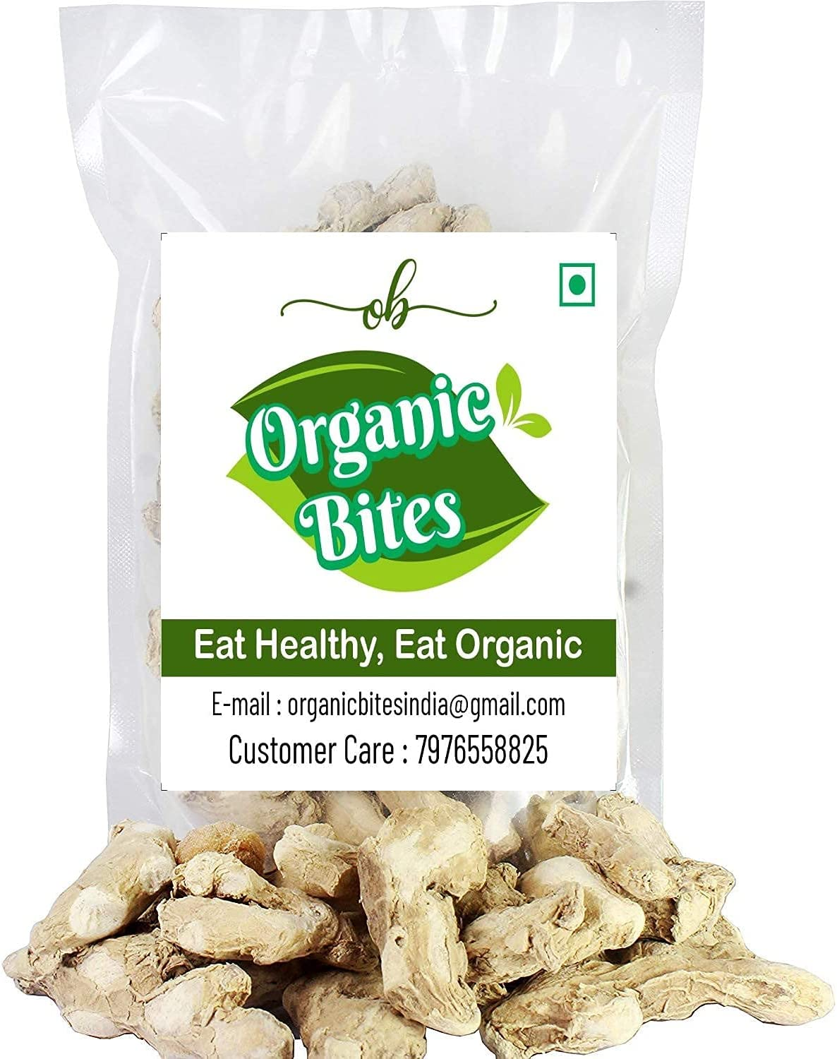 Dayna Organic Bites Whole sold out Ginger gm High order Dried -400