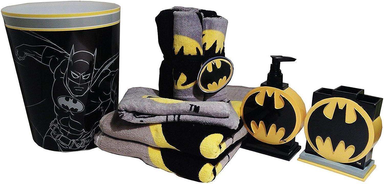 Batman Bathroom Accessories 12pc Bundle