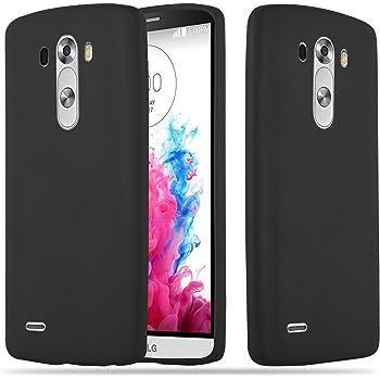Cadorabo Funda para LG G3 en Candy Negro – Cubierta Proteccíon de ...