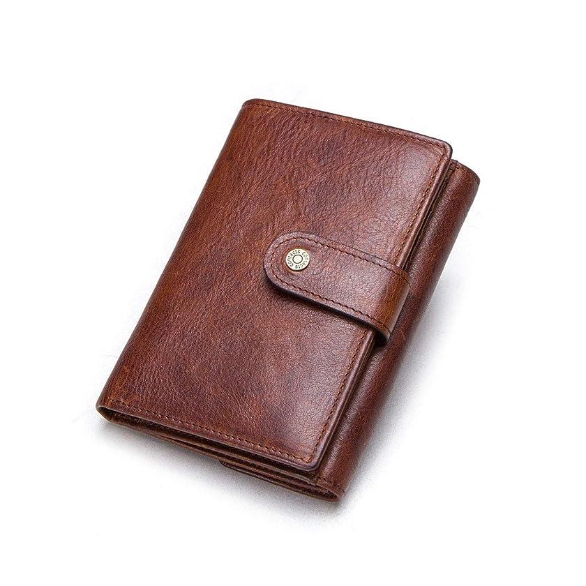 後継延ばすフォーマル?[コンタクトズ] Contacts メンズ 二つ折り 財布 レザー ウォレット サイフ 本革 財布 大容量 たくさんカード収納 小銭入れ 男性財布 ギフトに最適?